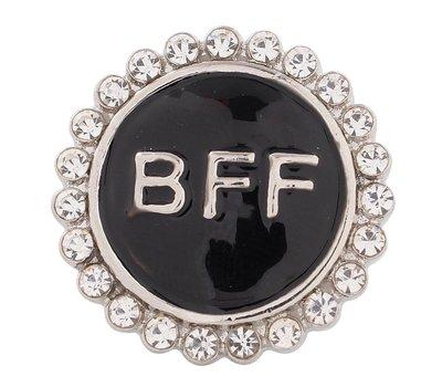 Clicks en Chunks | Click bff zwart voor clicks sieraden