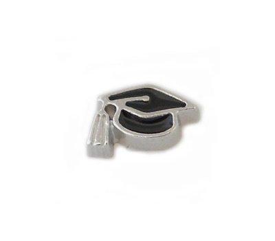 Floating Charms Floating graduation pet voor de memory locket