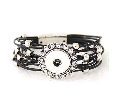 Clicks Sieraden Clicks armband beautiful zwart