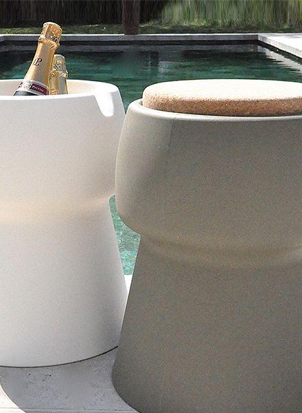 Champ Champ stool/cooler - Green