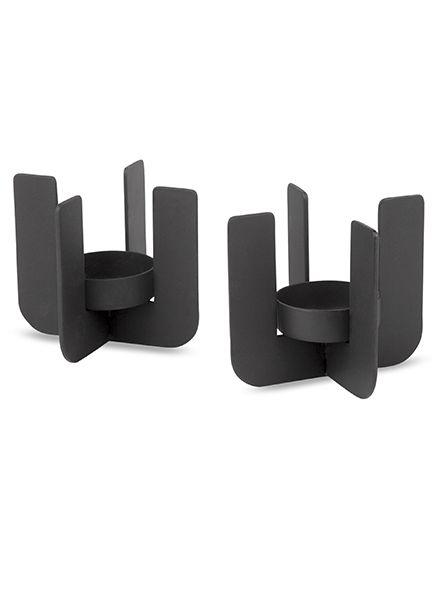 PIT - Black - 2 pieces