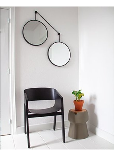 Mirror set TWINS - black