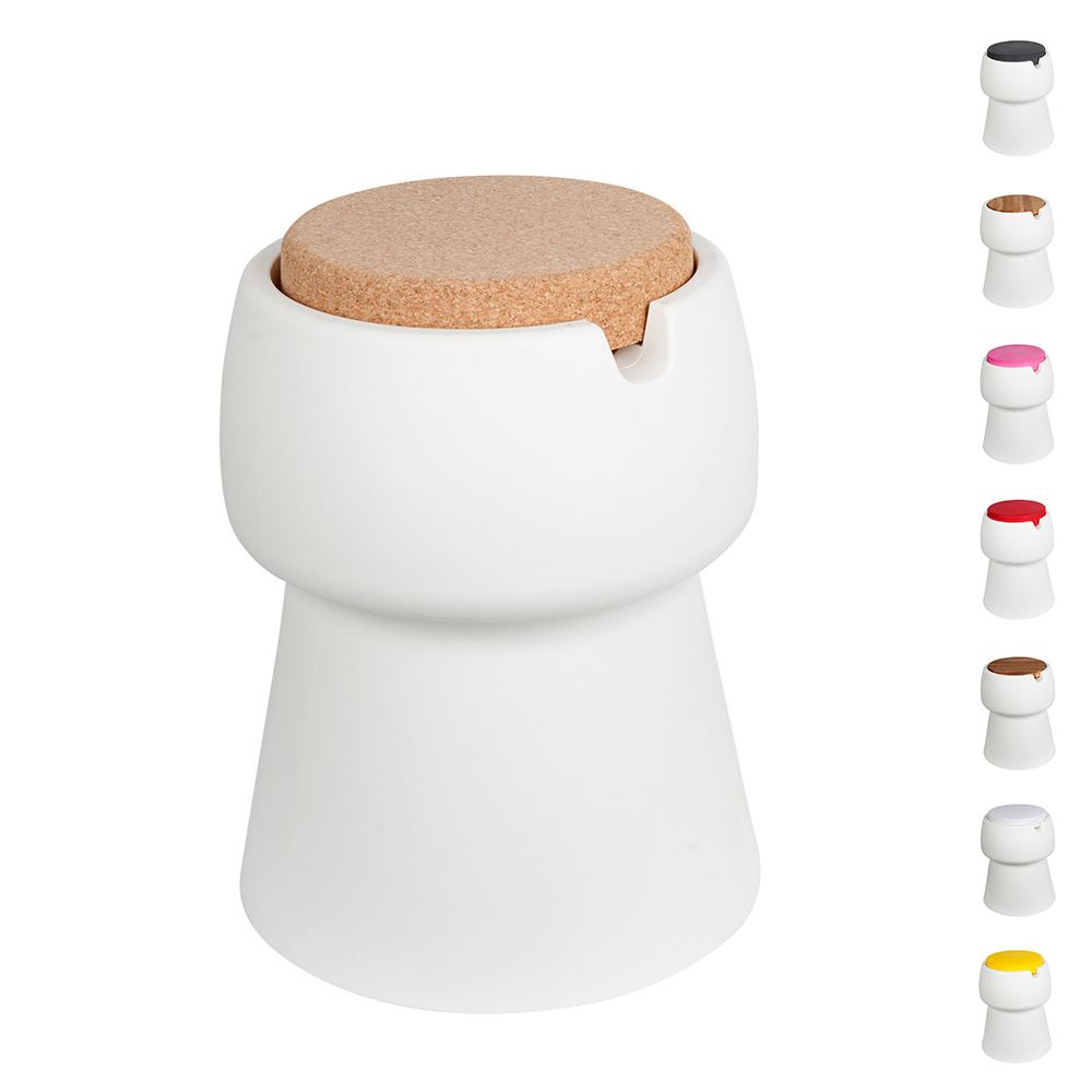 Champ Champ stool/cooler - White