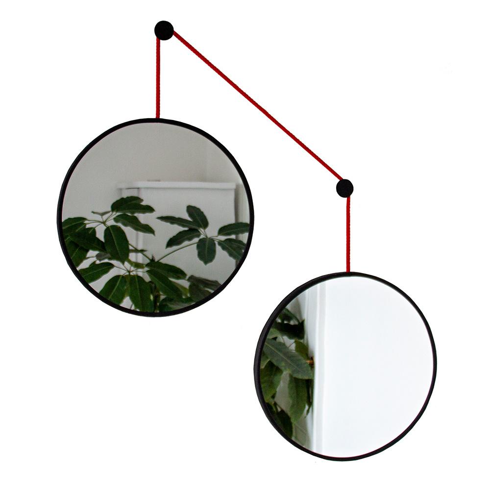 Mirror-set TWINS - red