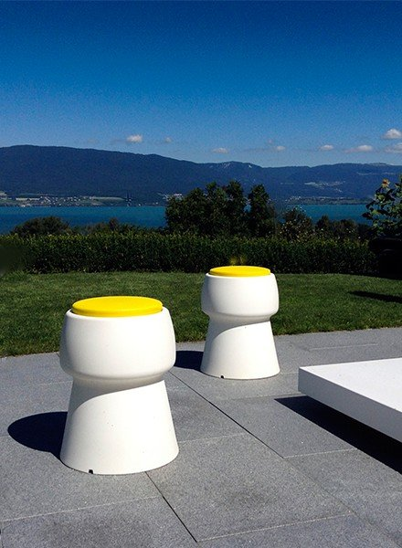 Inspiration - Champ stools for outside