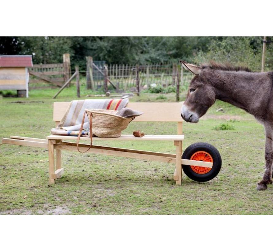 Weltevree Wheelbench kruiwagen bank