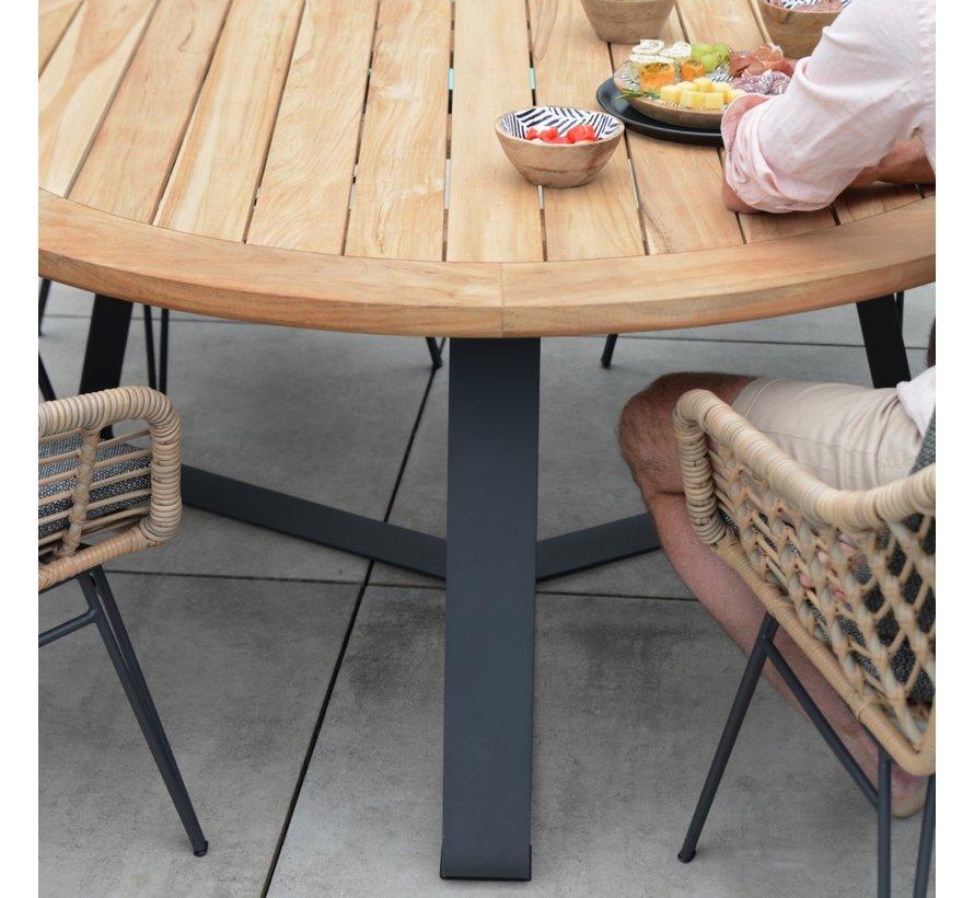 4 Seasons Outdoor Basso tafel rond 160cm