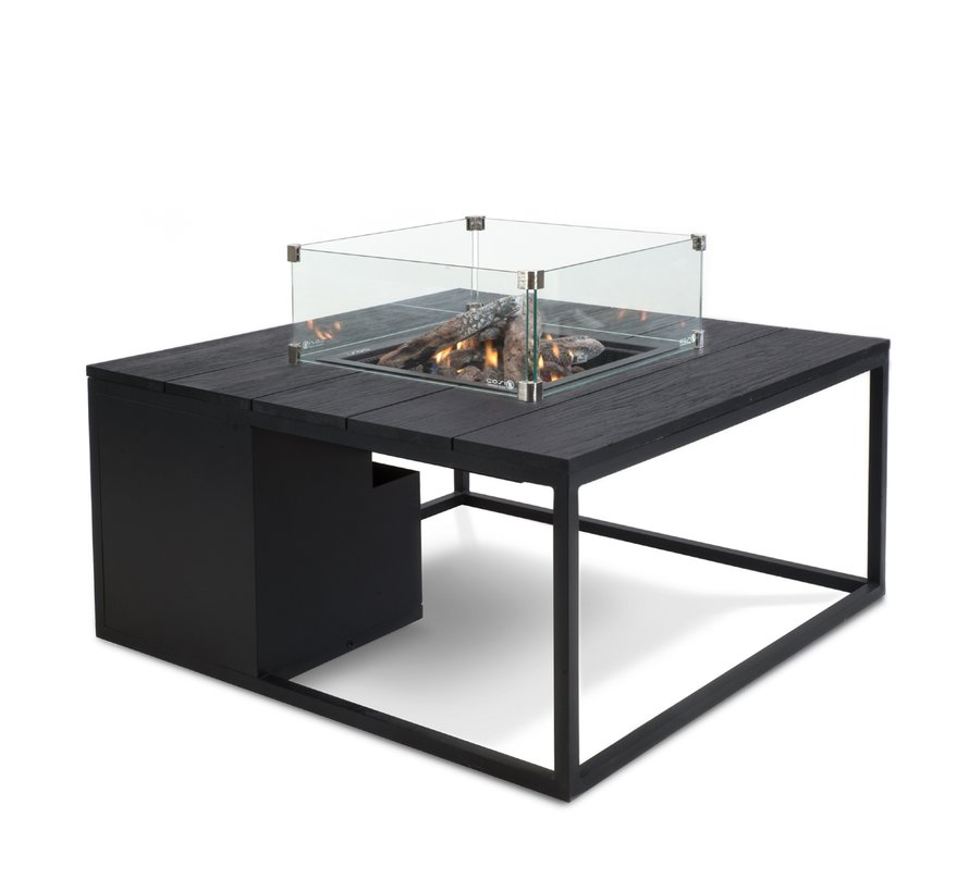 Cosi Fires Cosiloft 100x100cm Zwart