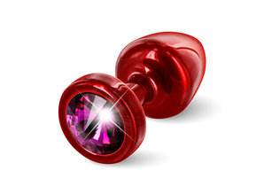 Diogol Diogol - Anni Butt Plug Rond 25 mm Rood & Roze