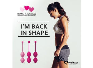 FeelzToys FeelzToys - FemmeFit Advanced Bekkenbodemspier Training Set 3 st.