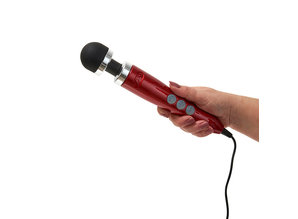 Doxy Doxy - Number 3 Wand Massager Donker Rood