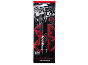 Motley Crue Motley Crue - 7 Functies Vibrator Design Shout at the Devil Zwart