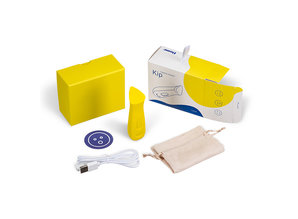Dame Products Dame Products - Kip Vibrator Geel