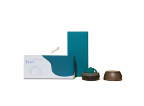 Dame Products Dame Products - Eva II Hands-Free Vibrator Donker Groen