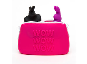 Happy Rabbit Happy Rabbit - WOW Opbergtas met Rits Klein Roze