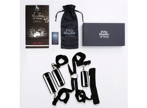 Fifty Shades of Grey Fifty Shades of Grey - Bed Restraints Kit Zwart