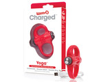 The Screaming O The Screaming O - Charged Yoga Vibe Ring Rood