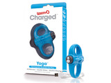 The Screaming O The Screaming O - Charged Yoga Vibe Ring Blauw