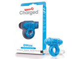 The Screaming O The Screaming O - Charged OWow Vibe Ring Blauw