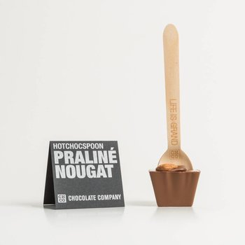 - HOTCHOCSPOON praliné nougat (milk)