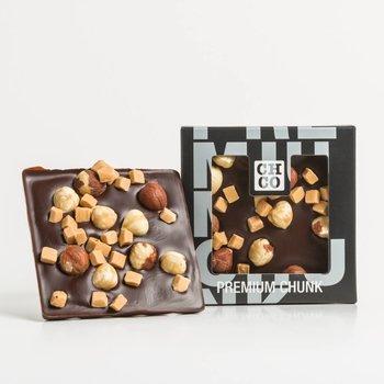 - CHOCBAR hazelnut caramel (dark)