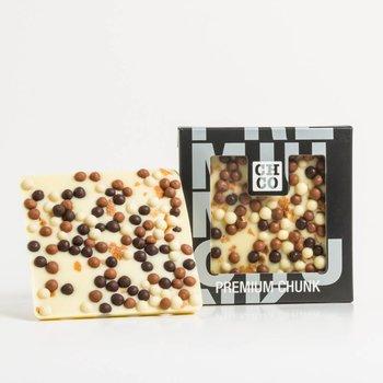 - CHOCBAR vanilla crunchy cookie (white)