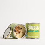 - FONDUE vanilla crunchy cookie (white)