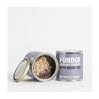 - FONDUE hazelnut caramel (dark)