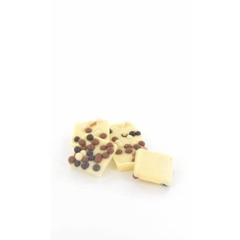 - MENDIANT bulk vanilla crunchy cookie (white)