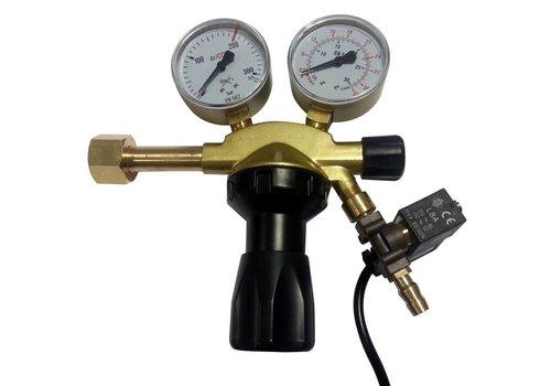 OptiClimate CO2 válvula reductora de presión con válvula de solenoide pro