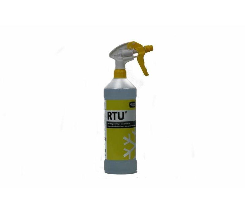 Heat exchanger cleaner