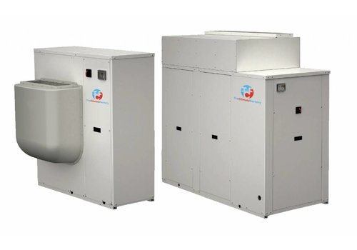 Enfriadora de agua para instalación en el interior