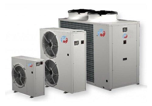 Luft- / Wasserkühler für die Installation im Freien