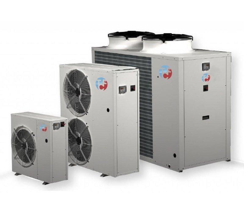Lucht / water chiller voor buiteninstallatie