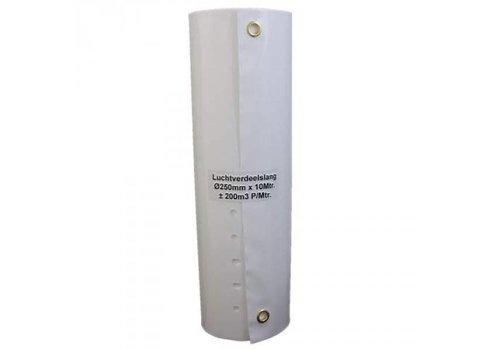 Air distribution tube high flow