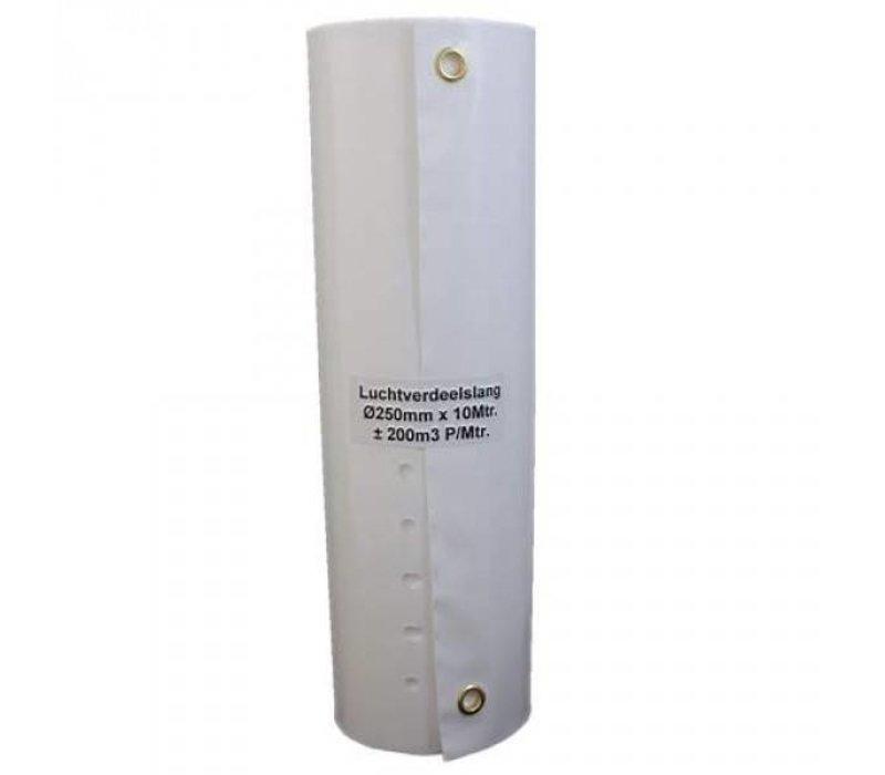 Tube de distribution d'air haut débit