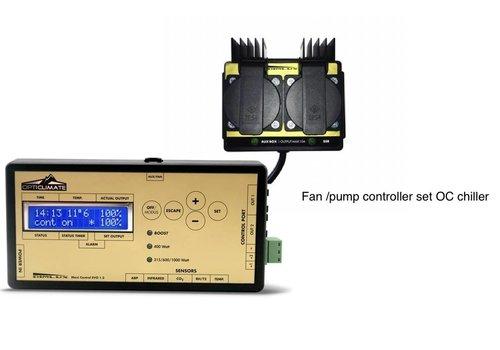 OptiClimate Conjunto de controlador de ventilador / bomba