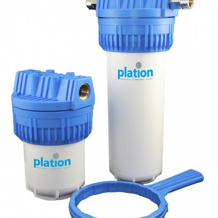 Plation in-line filters and cartridges