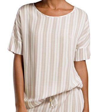 Lara Shirt Jaquard Stripe