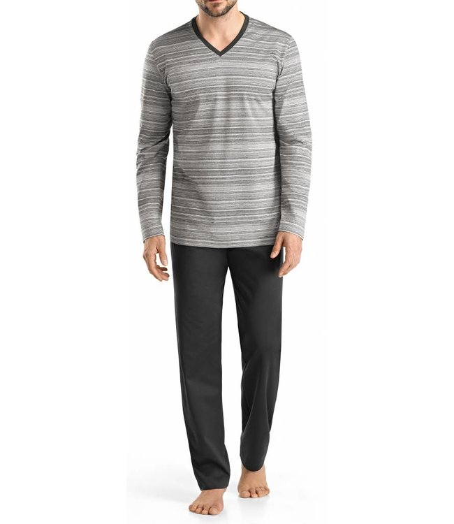 Leandro Long Sleeve Pyjama Set Flamé