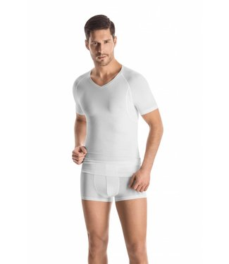 Urban Touch V-Neck Shirt White