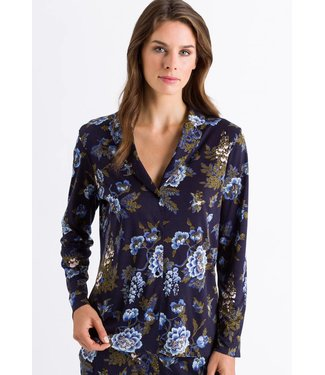 Zahra Long Sleeve Shirt Big Flower Print