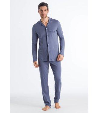 Narius Long Sleeve Pyjama Cliff Blue (SALE)
