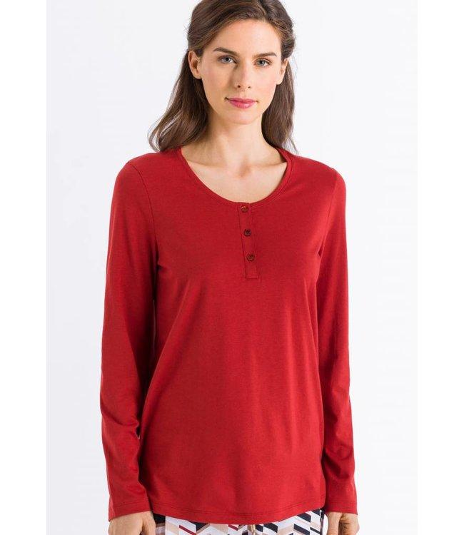 Sleep & Lounge Long Sleeve Rusted Red (NEW)