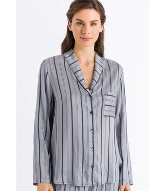 Malie Long Sleeve Powder Blue Stripe (SALE)
