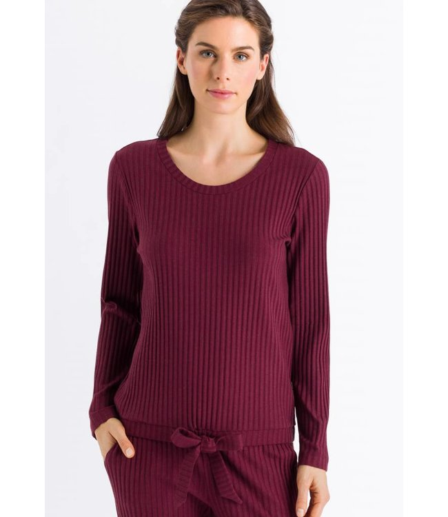 Minna Long Sleeve Shirt Wine