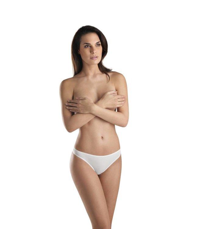 Cotton Sensation Low Rise Thong White (SALE)