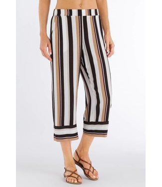 Favourites Crop Pants Everglade Stripe (NEW)