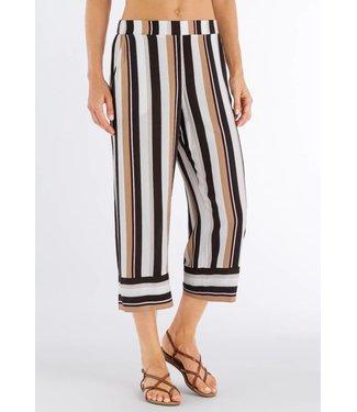 Favourites Crop Pants Everglade Stripe