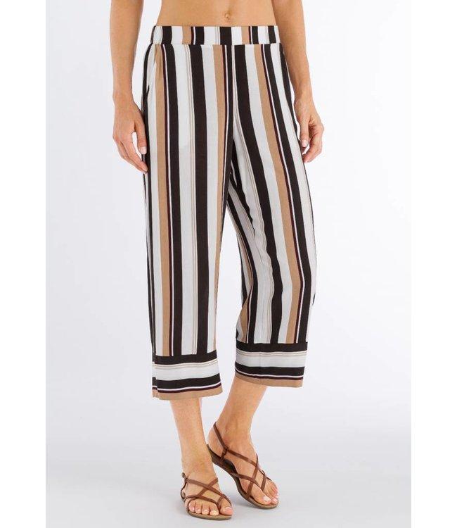 Favourites Crop Pants Everglade Stripe (NEW)